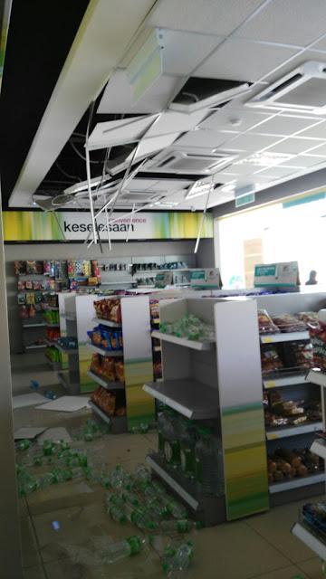 Gempar Bumi, Sabah
