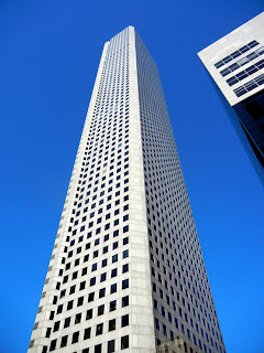 Chase tower in downtown Houston, TX