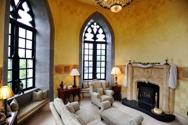 Old World Gothic Interior Design Room