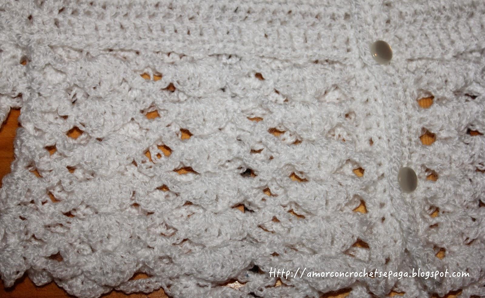 Porque no todos los patrones son libres... (suéter para niña)
