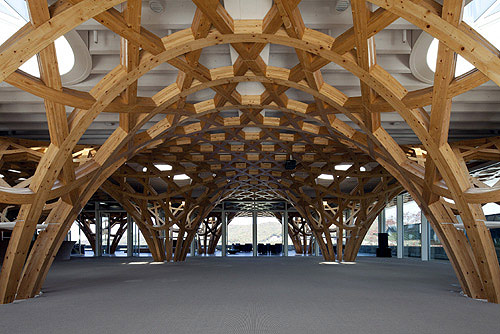 Blog studiorys haesley nine bridges golf clubhouse - Estructura madera laminada ...