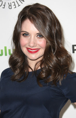 Alison Brie 2012 Hairstyle