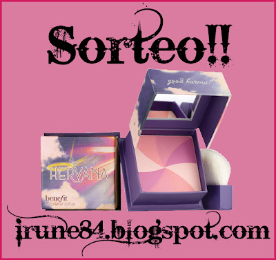 Sorteo Hervana Benefit en Irune84