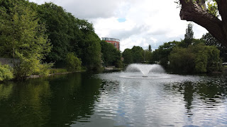 The lake at Central Park Chelmsford