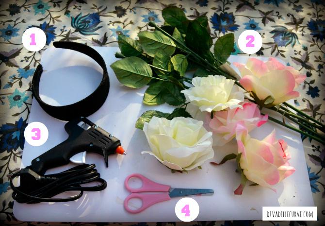 occorrente per fare una coroncina di fiori fai da te