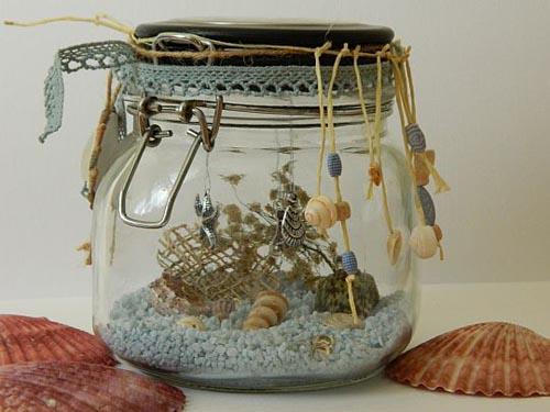 Декорирование в морском стиле