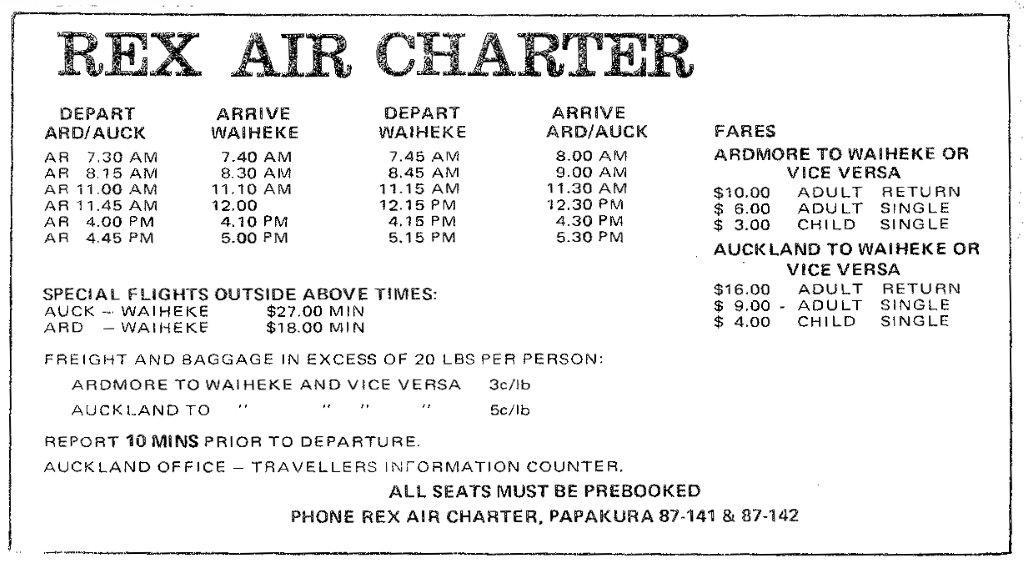 Charter Flights: Charter Flights King Island