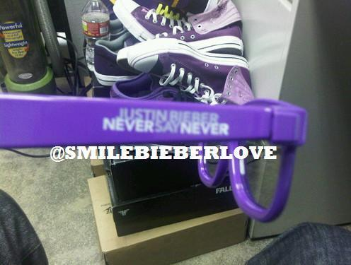 justin bieber purple glasses. justin bieber never say never