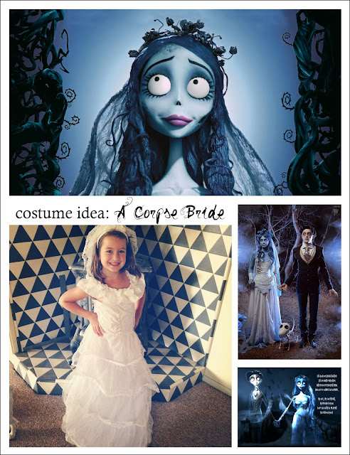 living with ThreeMoonBabies | costume idea: A Corpse Bride