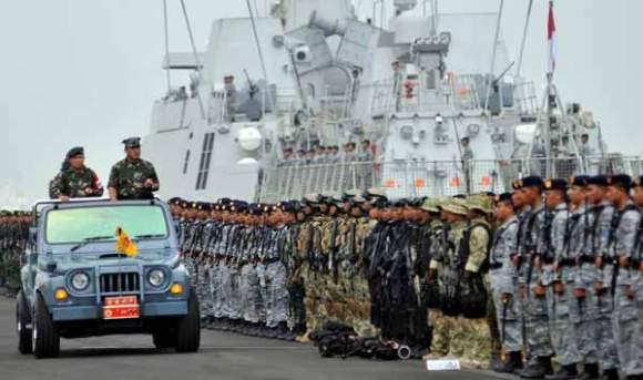 TNI Akan Gelar Latgab TNI Tingkat Divisi Tahun 2013