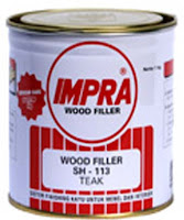 Impra Wood Filler Bahan Finishing Furniture