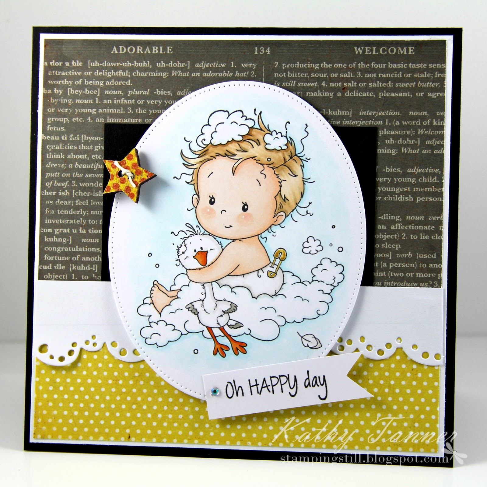 new baby, whimsy stamps, sylvia zet, happy day, cc designs