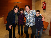 Vicio (Fernando Bazán), Brian (Jesús Cabrera), mi hermano y yo.