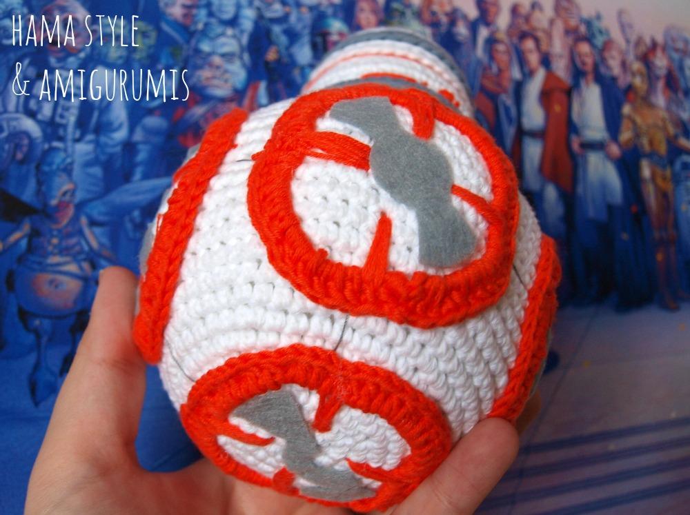 Marta Ruso Crochet Creativo: BB8 de Star Wars [PATRÓN GRATIS]