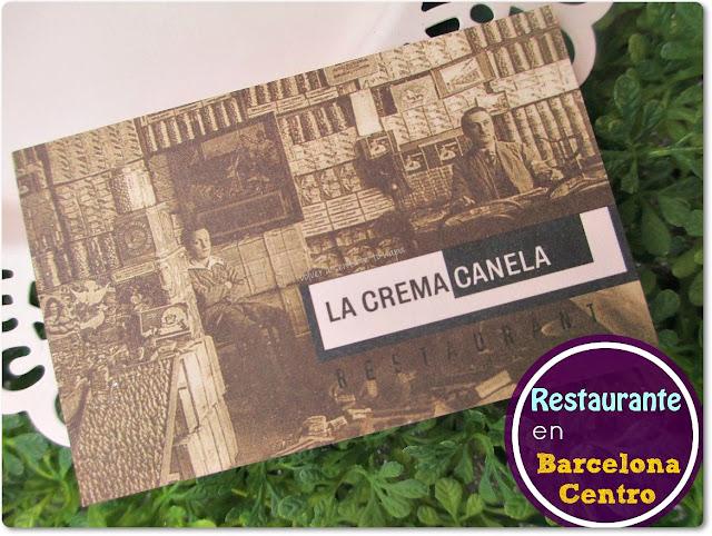 LA CREMA CANELA, de comida por el Centro de Barcelona