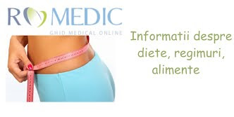 Dieta ROmedic. Dieta si alimentatie