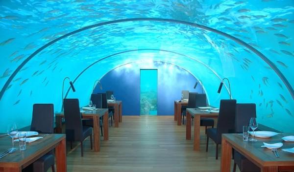 Ithaa Undersea Restaurant - The World's First Ever Undersea Restaurant