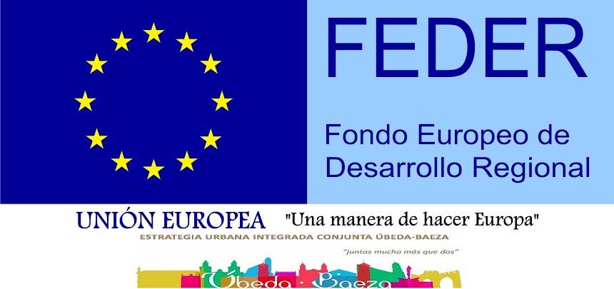 Fondos Feder   Estrategia DUSI Úbeda Baeza 2020