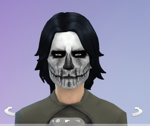 Girl Skull Face Skull Face Paint For Males