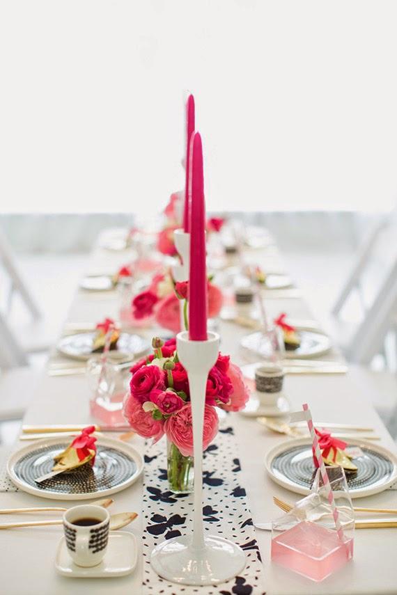 Fiesta de chicas en rosa - mesa personalizada2