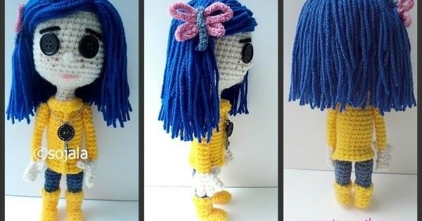 Amigurumi To Go Doll : Coraline Doll Free Crochet Pattern ~ Amigurumi To Go