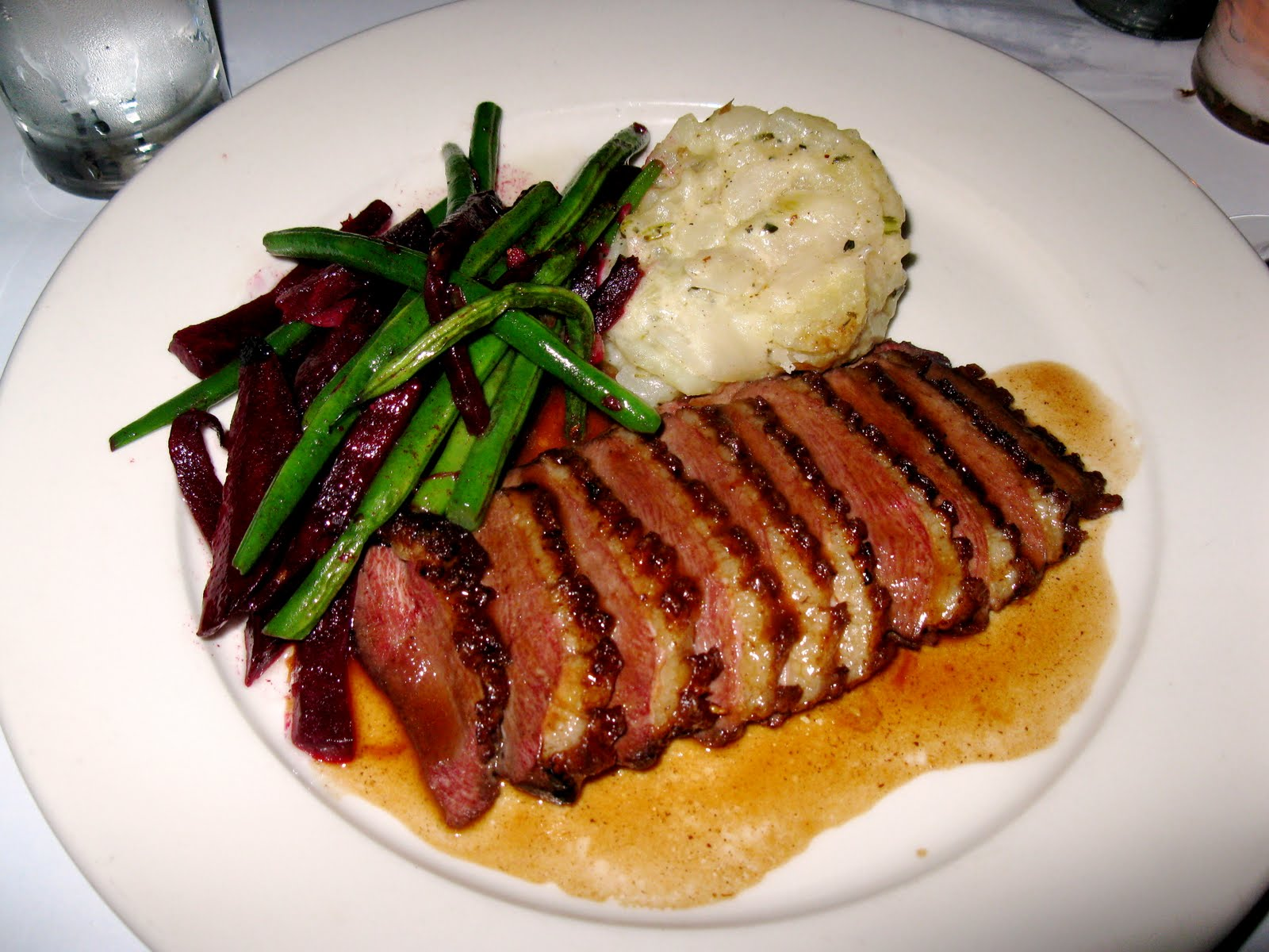 Roast Duck Breasts With Pomegranate-Chile Sauce Recipe ...