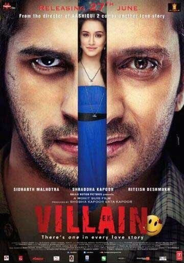 Ek Villain First Look Poster - Sidharth Malhotra