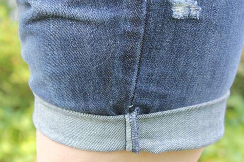 DIY Jean Shorts | HelloGlow.co