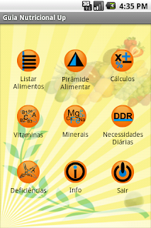 Guia Nutricional Up App Android