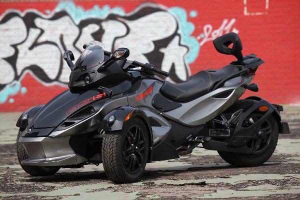 new motorcyle modification can am spyder rs s. Black Bedroom Furniture Sets. Home Design Ideas
