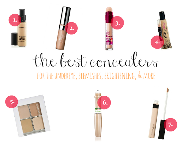 Makeup Your Mind's Best Concealers!
