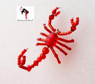 scorpions beads kanzashiland