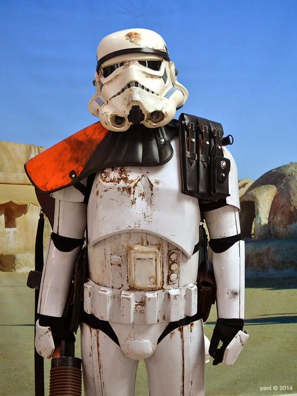 oz comic-con adelaide - sand trooper