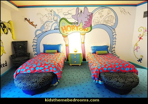 Decorating theme bedrooms maries manor cat in the hat for Doctor who bedroom ideas