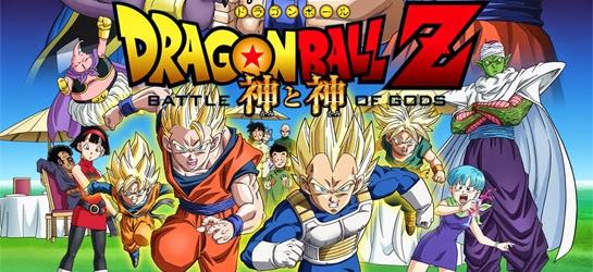 Dragon Ball Z La Batalla de los Dioses, estreno en cines