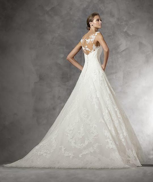 Blog mi boda gu a tipos de telas de vestidos de novia i - Chantilly telas ...
