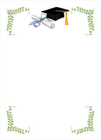 molduras de convites de formatura
