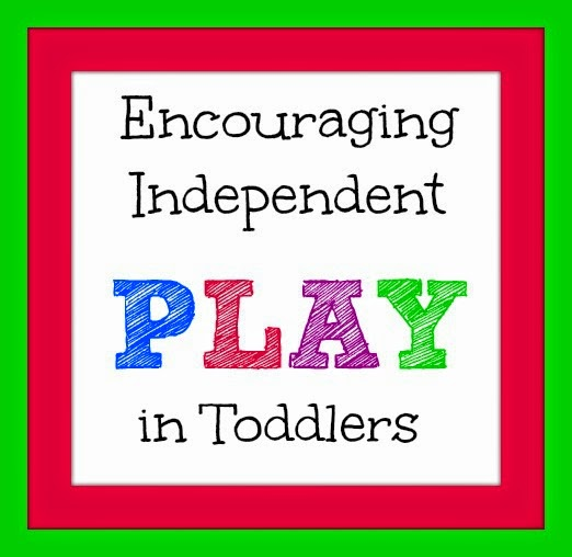 Encouraging Independent Play in Toddlers