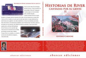 """2012: PLIEGO TAPA DE """"HISTORIAS DE RIVER CANTADAS POR SU GENTE II"""""""