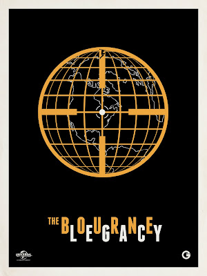 San Diego Comic-Con 2012 Exclusive The Bourne Legacy Screen Print by Matt Owen