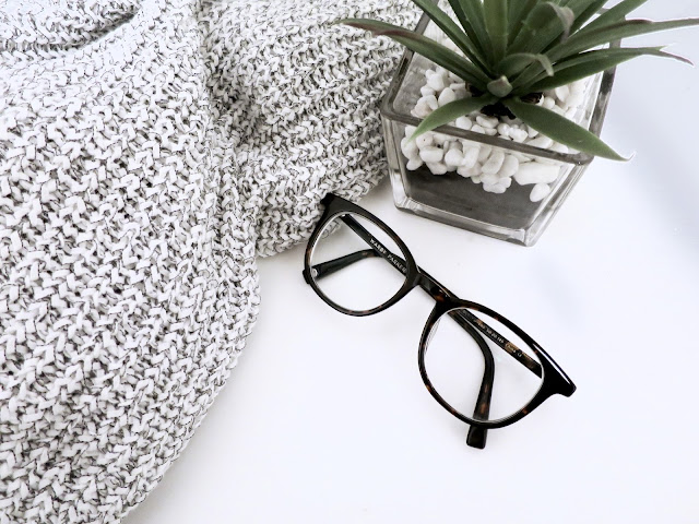 glasses, sweater, white, plant, warby parker,