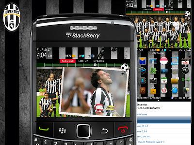 Theme Juventus for BlackBerry