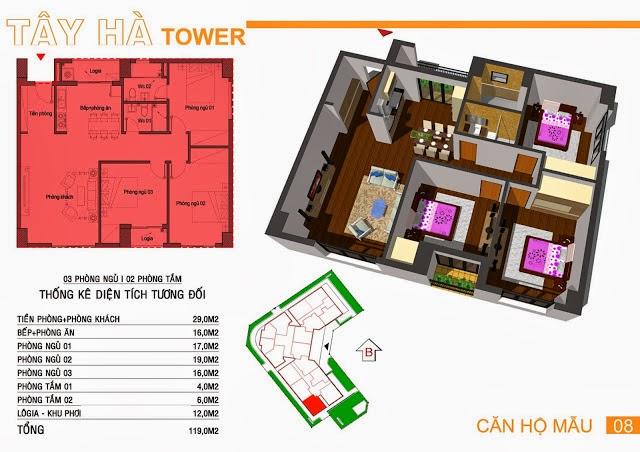 Chung Cư Tây Hà Tower, chung cu tay ha tower, 13