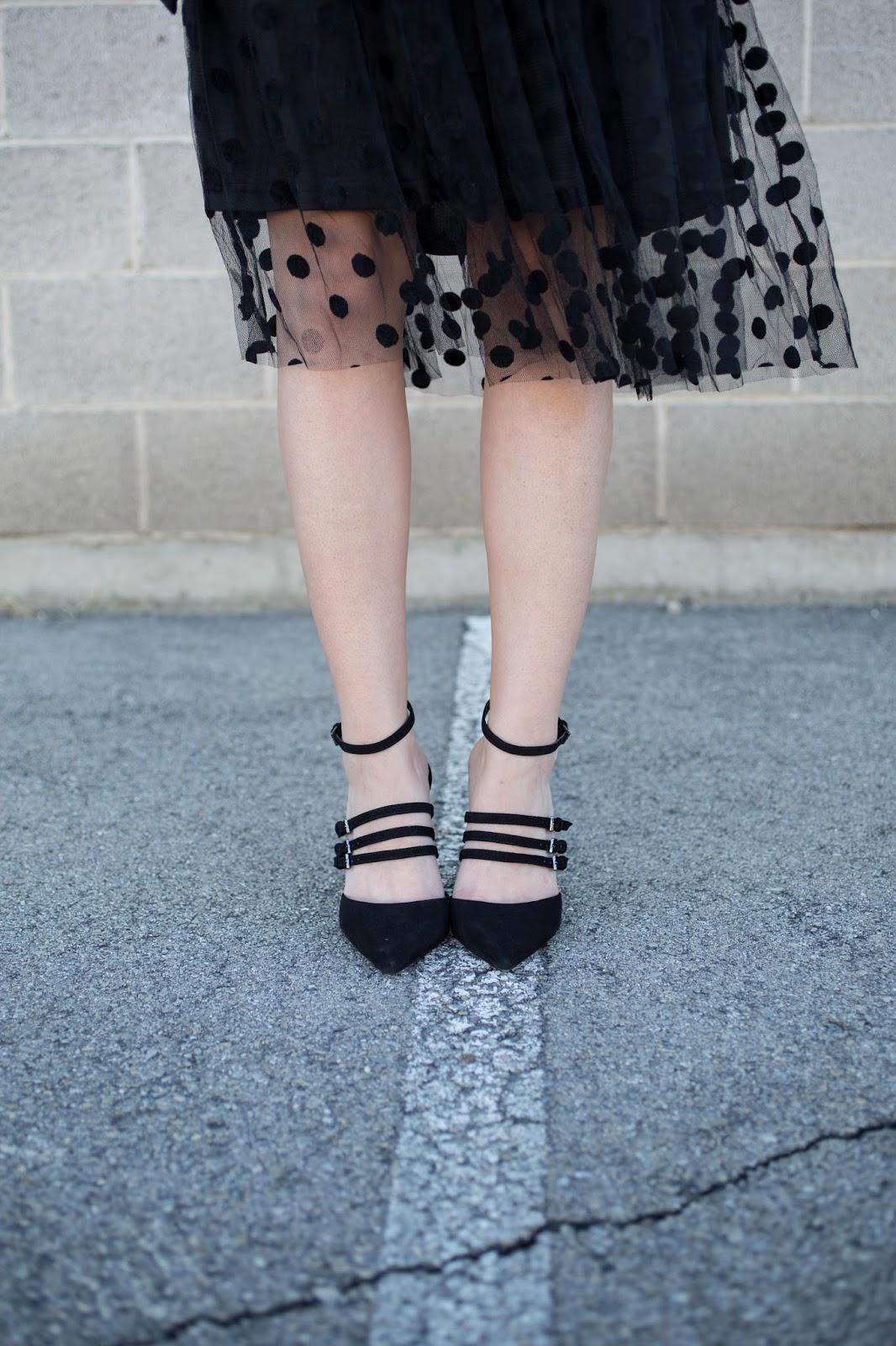 Polka Dots and Strappy Heels