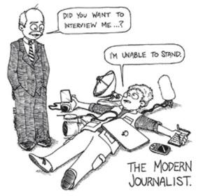 jurnalis modern