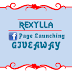 Rexylla FB Page Launching Giveaway