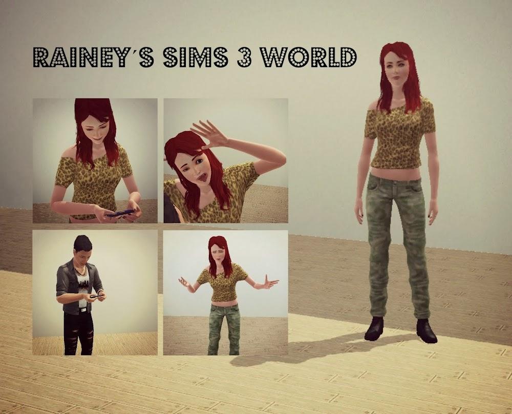 Rainey´s sims 3 world