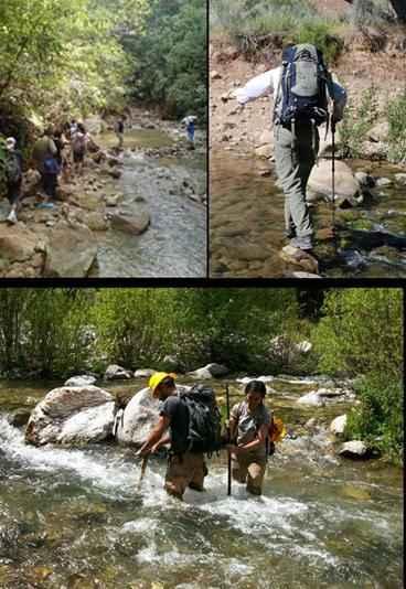 Mount Pulai , water trekking