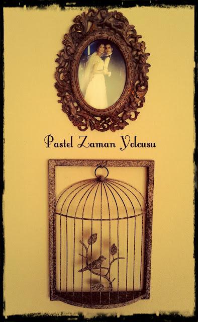 Ayna Çerçevesi, Madame Coco Ayna, DIY, Aynadan Çerçeve, Melekli Çerçeve