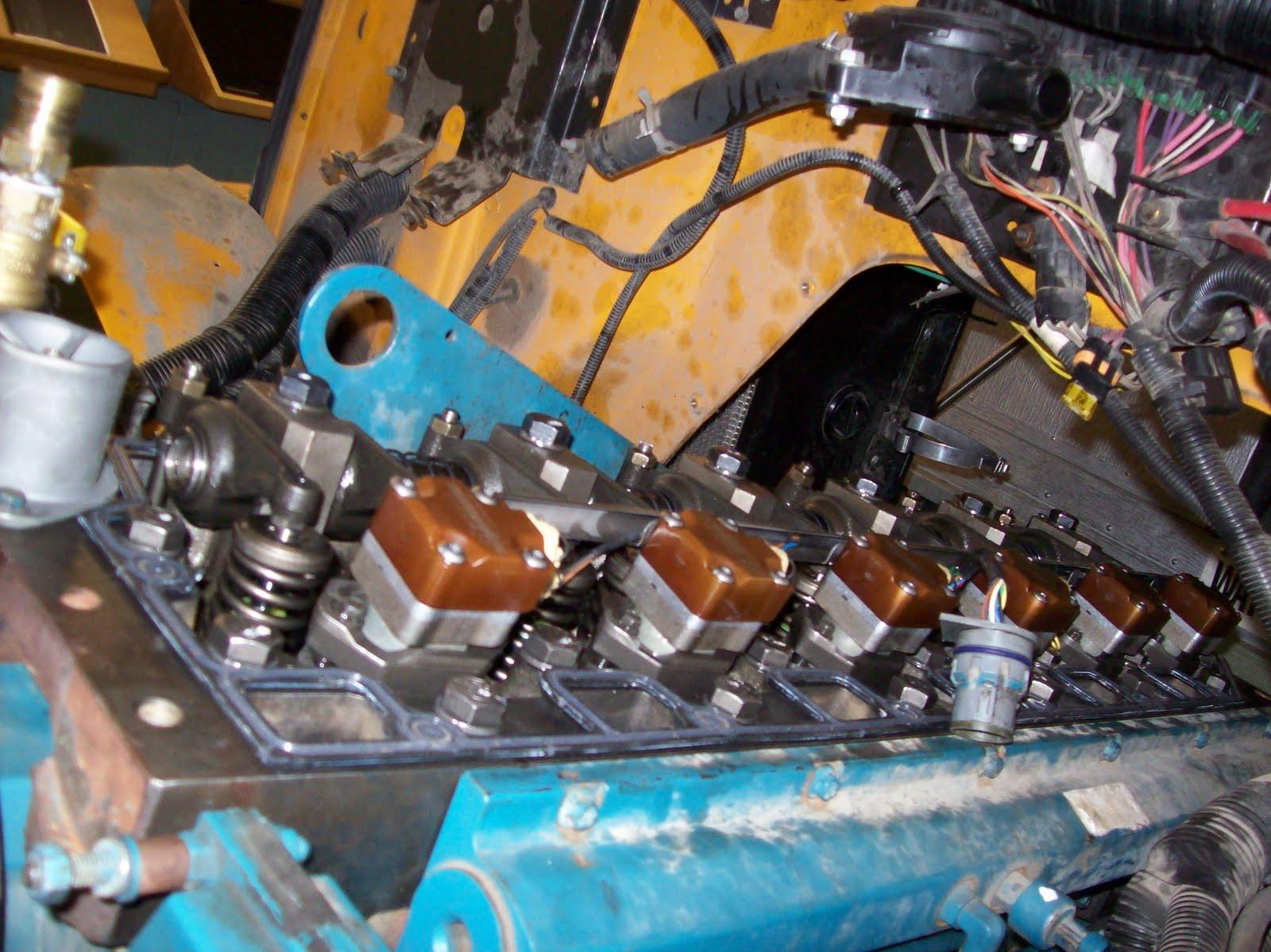 School Bus Mechanic  International Dt 466e In